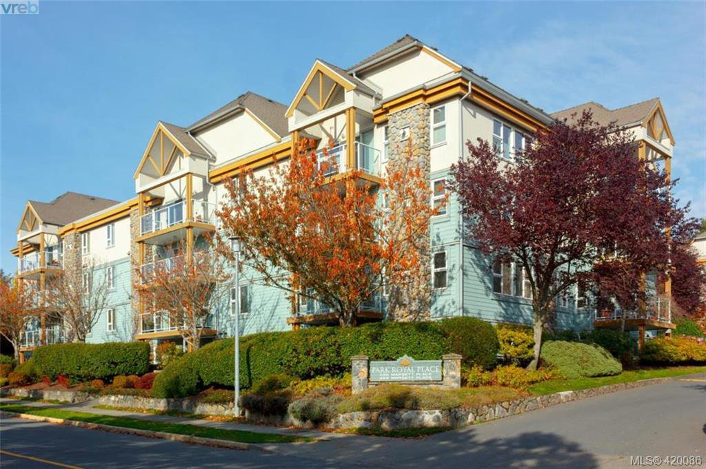 Main Photo: 409 494 Marsett Place in VICTORIA: SW Royal Oak Condo Apartment for sale (Saanich West)  : MLS®# 420086