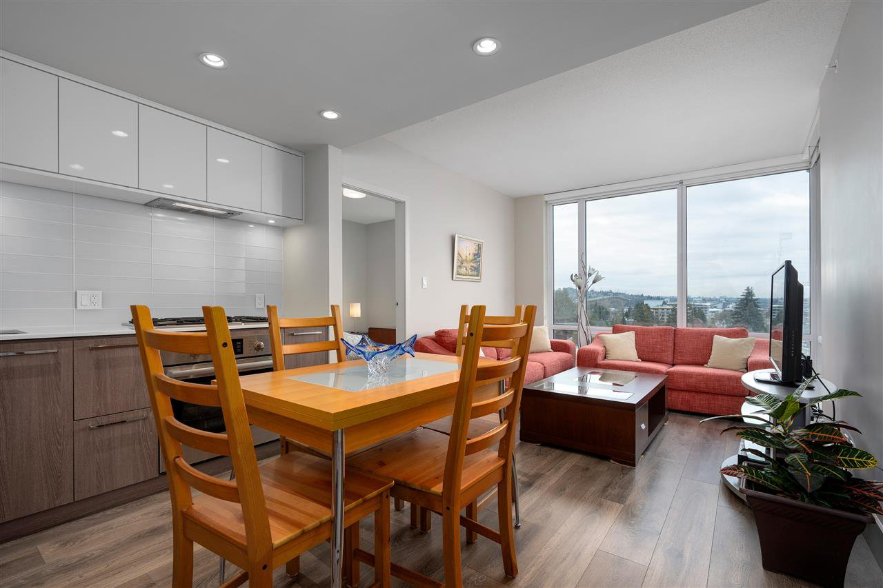 """Main Photo: 605 680 SEYLYNN Crescent in North Vancouver: Lynnmour Condo for sale in """"COMPASS AT SEYLYNN VILLAGE"""" : MLS®# R2457536"""
