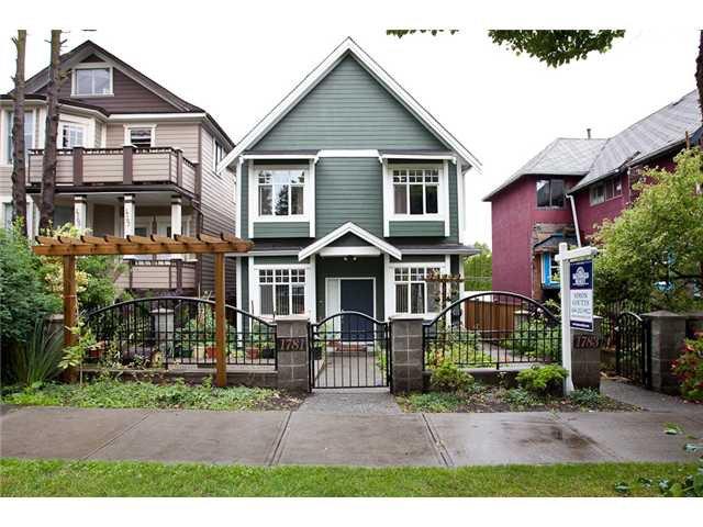 Main Photo: 1783 E 15TH AV in Vancouver: Grandview VE Condo for sale (Vancouver East)  : MLS®# V900671