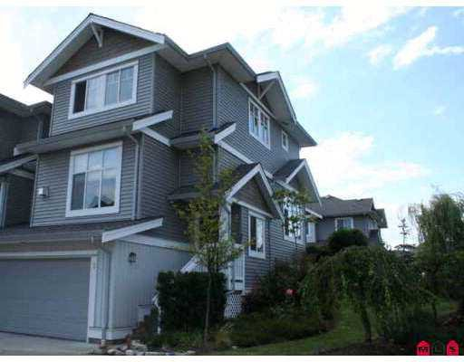 """Main Photo: 1 16760 61ST Avenue in Surrey: Cloverdale BC Townhouse for sale in """"HARVEST LANDING"""" (Cloverdale)  : MLS®# F2722087"""