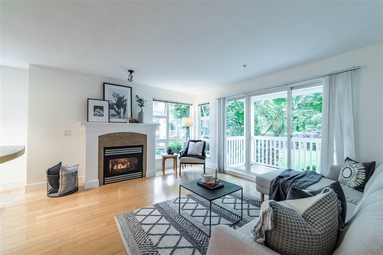 """Main Photo: 201 1868 W 5TH Avenue in Vancouver: Kitsilano Condo for sale in """"GREENWICH WEST"""" (Vancouver West)  : MLS®# R2457166"""