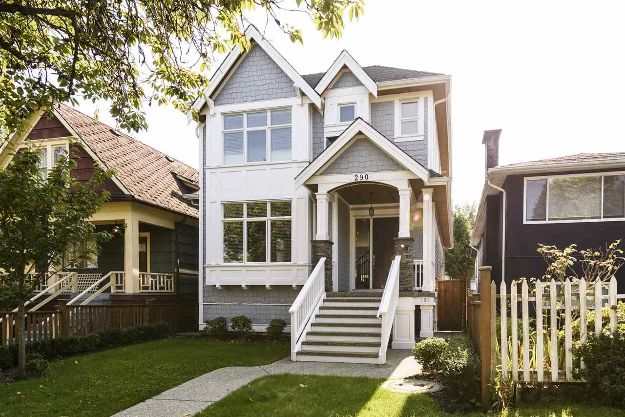 Main Photo: 290 E 21ST AVENUE in Vancouver: Main House for sale (Vancouver East)  : MLS®# R2504293
