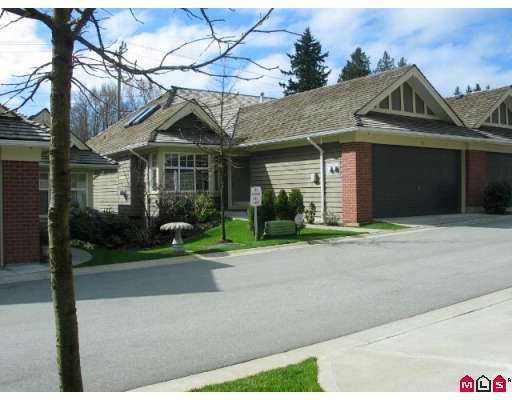 """Main Photo: 15450 ROSEMARY HTS Crescent in Surrey: Morgan Creek Townhouse for sale in """"Carrington"""" (South Surrey White Rock)  : MLS®# F2707251"""
