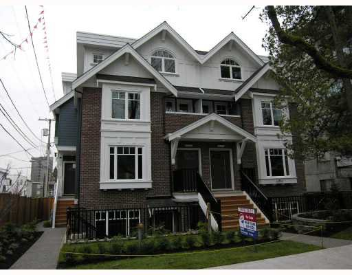 Photo 1: Photos: 2838 SPRUCE Street in Vancouver: Fairview VW Townhouse for sale (Vancouver West)  : MLS®# V680147