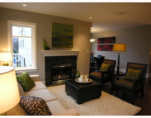 Photo 3: Photos: 2838 SPRUCE Street in Vancouver: Fairview VW Townhouse for sale (Vancouver West)  : MLS®# V680147