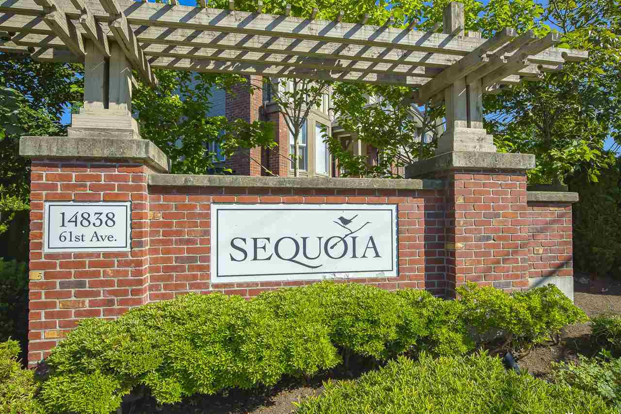 """Main Photo: 74 14838 61 Avenue in Surrey: Sullivan Station Townhouse for sale in """"SEQUOIA"""" : MLS®# R2474675"""