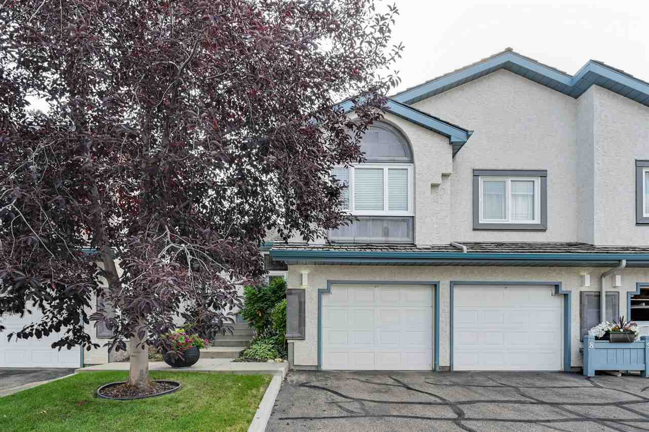 Main Photo: 8 1130 FALCONER Road in Edmonton: Zone 14 Townhouse for sale : MLS®# E4211078
