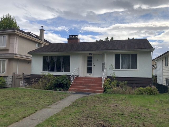Main Photo: 160 W 44TH Avenue in Vancouver: Oakridge VW House for sale (Vancouver West)  : MLS®# R2509811