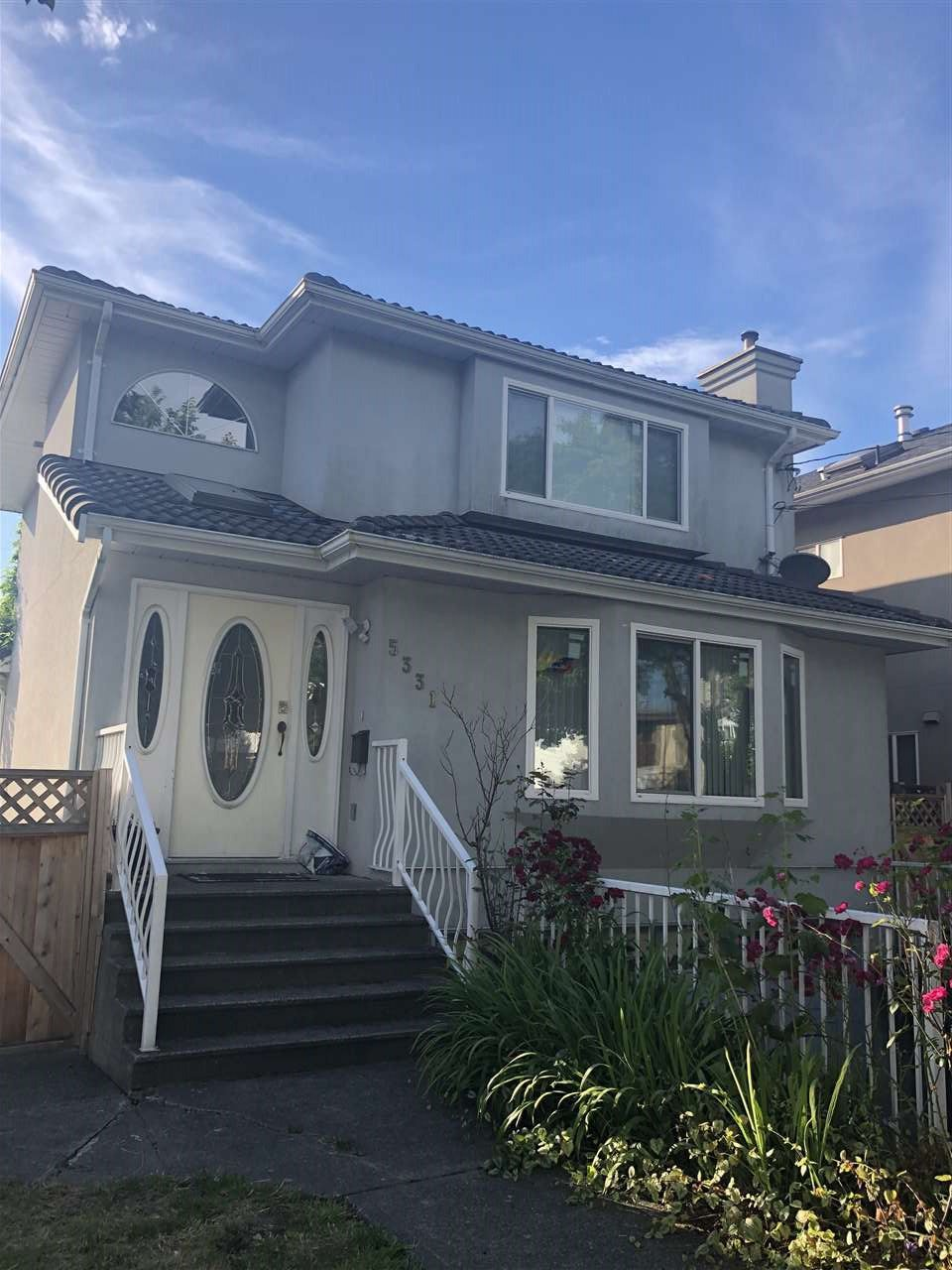 Main Photo: 5331 CECIL Street in Vancouver: Collingwood VE House for sale (Vancouver East)  : MLS®# R2496686