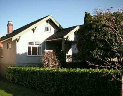 Main Photo: 185 W 19TH Ave in Vancouver: Cambie House for sale (Vancouver West)  : MLS®# V634474