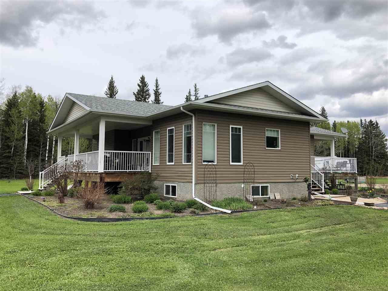 Main Photo: 621041 RR 225: Rural Athabasca County House for sale : MLS®# E4200641