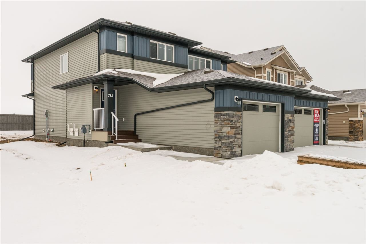 Main Photo: 712 Berg Loop: Leduc House Half Duplex for sale : MLS®# E4175752