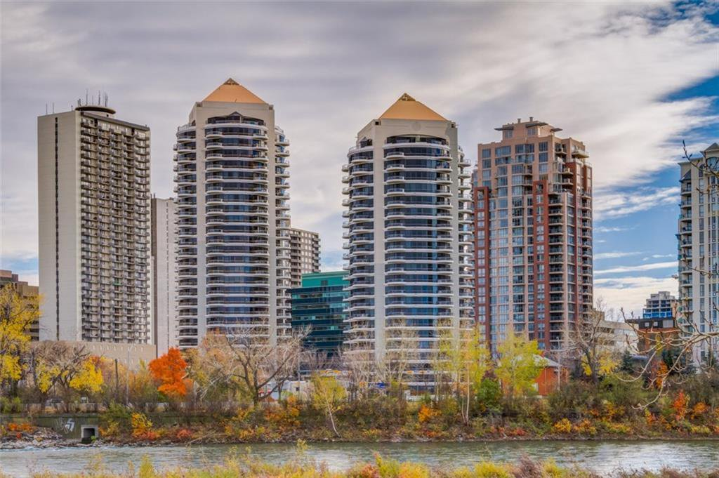 Main Photo: 101 1088 6 Avenue SW in Calgary: Downtown West End Apartment for sale : MLS®# A1031255