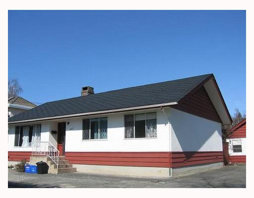 Main Photo: 11811 GRANVILLE Avenue in Richmond: McLennan House for sale : MLS®# V656637