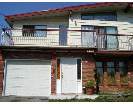 Main Photo: 7455 16TH Avenue in Burnaby: Edmonds BE House 1/2 Duplex for sale (Burnaby East)  : MLS®# V660294
