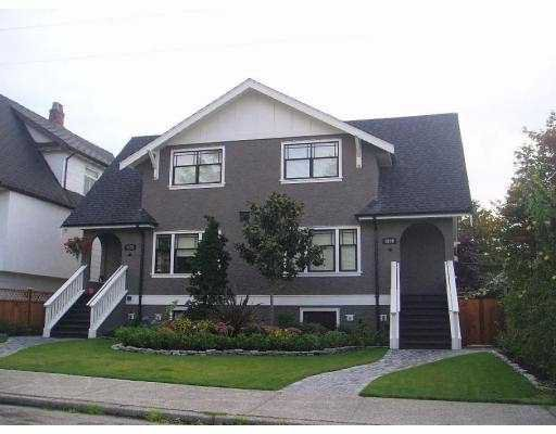 Main Photo: 2686 W 5TH Avenue in Vancouver: Kitsilano House 1/2 Duplex for sale (Vancouver West)  : MLS®# V685671