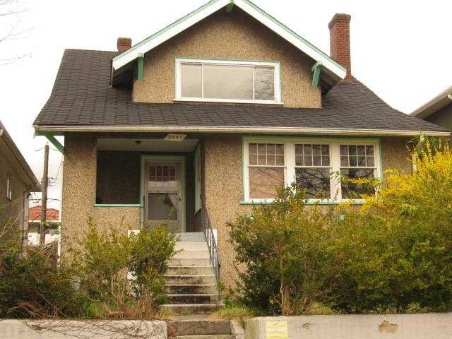 Photo 1: Photos: 2441 E 4TH AV in Vancouver: Renfrew VE House for sale (Vancouver East)  : MLS®# V879162