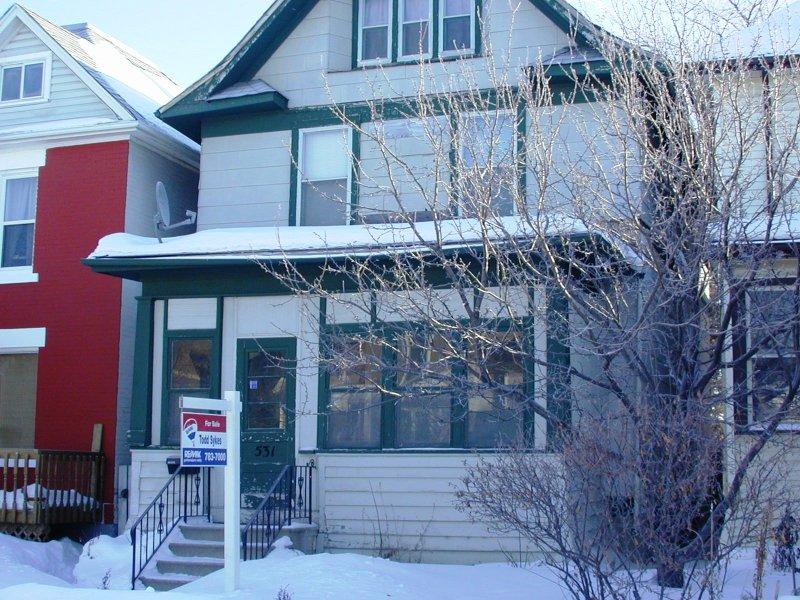 Main Photo: 531 Telfer Street / Wolseley in Winnipeg: West End / Wolseley House/Single Family for sale (Wolseley)  : MLS®# 2701876
