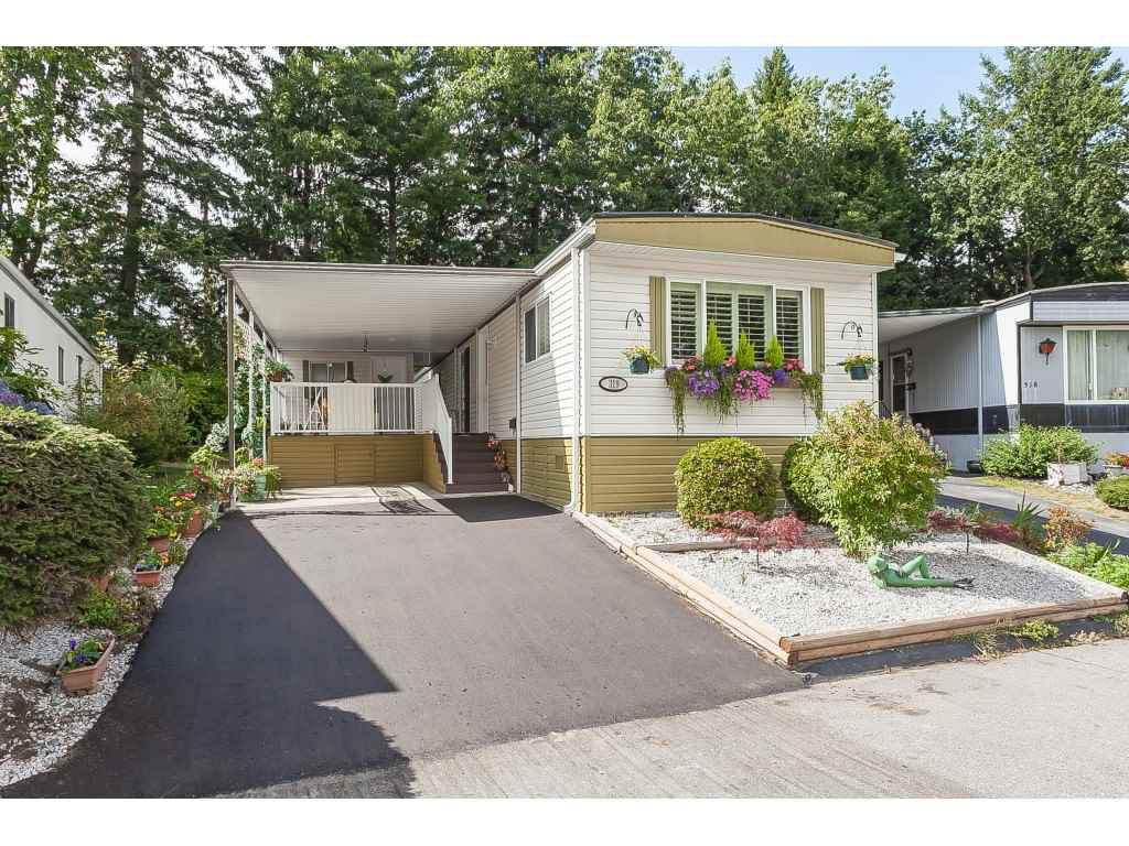 "Main Photo: 319 1840 160 Street in Surrey: White Rock Manufactured Home for sale in ""Breakaway Bays"" (South Surrey White Rock)  : MLS®# R2399623"