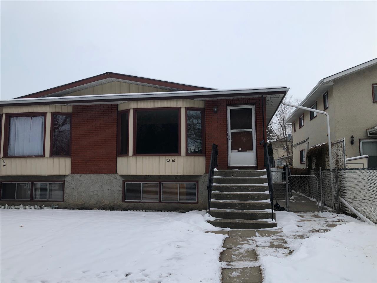 Main Photo: 12846 125 Street in Edmonton: Zone 01 House Half Duplex for sale : MLS®# E4183207
