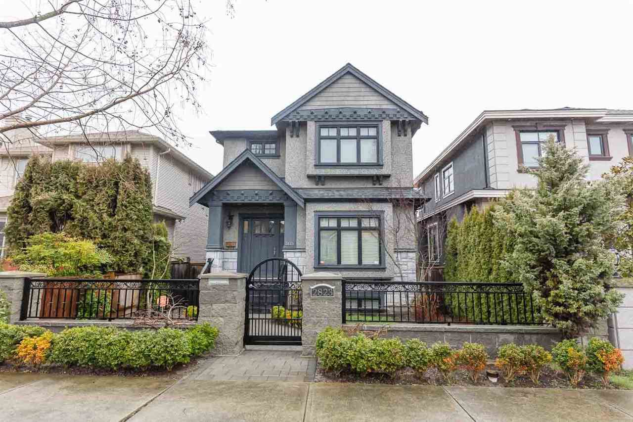 Main Photo: 2823 W 24TH Avenue in Vancouver: Arbutus House for sale (Vancouver West)  : MLS®# R2437785