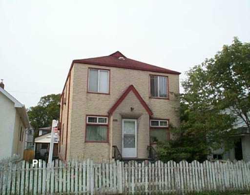 Main Photo: 570 MAGNUS Avenue in Winnipeg: North End Duplex for sale (North West Winnipeg)  : MLS®# 2614843