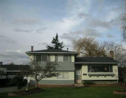 """Main Photo: 3411 FAIRBROOK in Richmond: Seafair House for sale in """"SEAFAIR"""" : MLS®# V702495"""