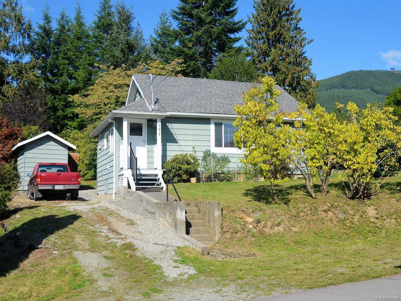 Main Photo: 151 Nitinat Ave in LAKE COWICHAN: Du Lake Cowichan House for sale (Duncan)  : MLS®# 826249