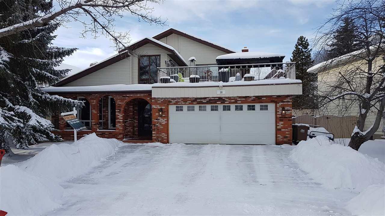 Main Photo: 18 Langholm Drive: St. Albert House for sale : MLS®# E4221491