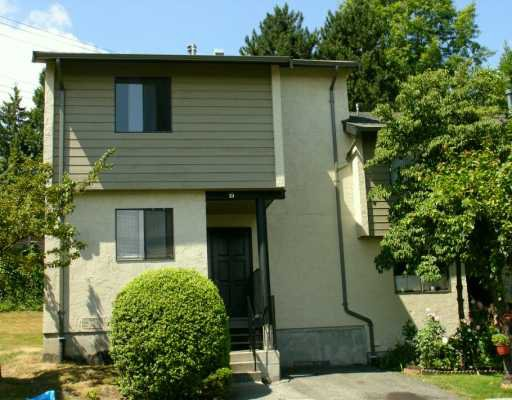 """Photo 1: Photos: 19 2880 DACRE AV in Coquitlam: Ranch Park Townhouse for sale in """"PARKWOOD"""" : MLS®# V604264"""