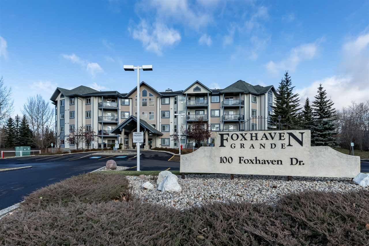 Main Photo: 210 100 FOXHAVEN Drive: Sherwood Park Condo for sale : MLS®# E4178123