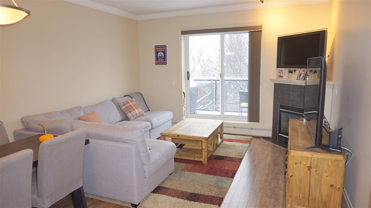 Photo 4: Photos: 407 8631 108 Street in Edmonton: Zone 15 Condo for sale : MLS®# E4182004