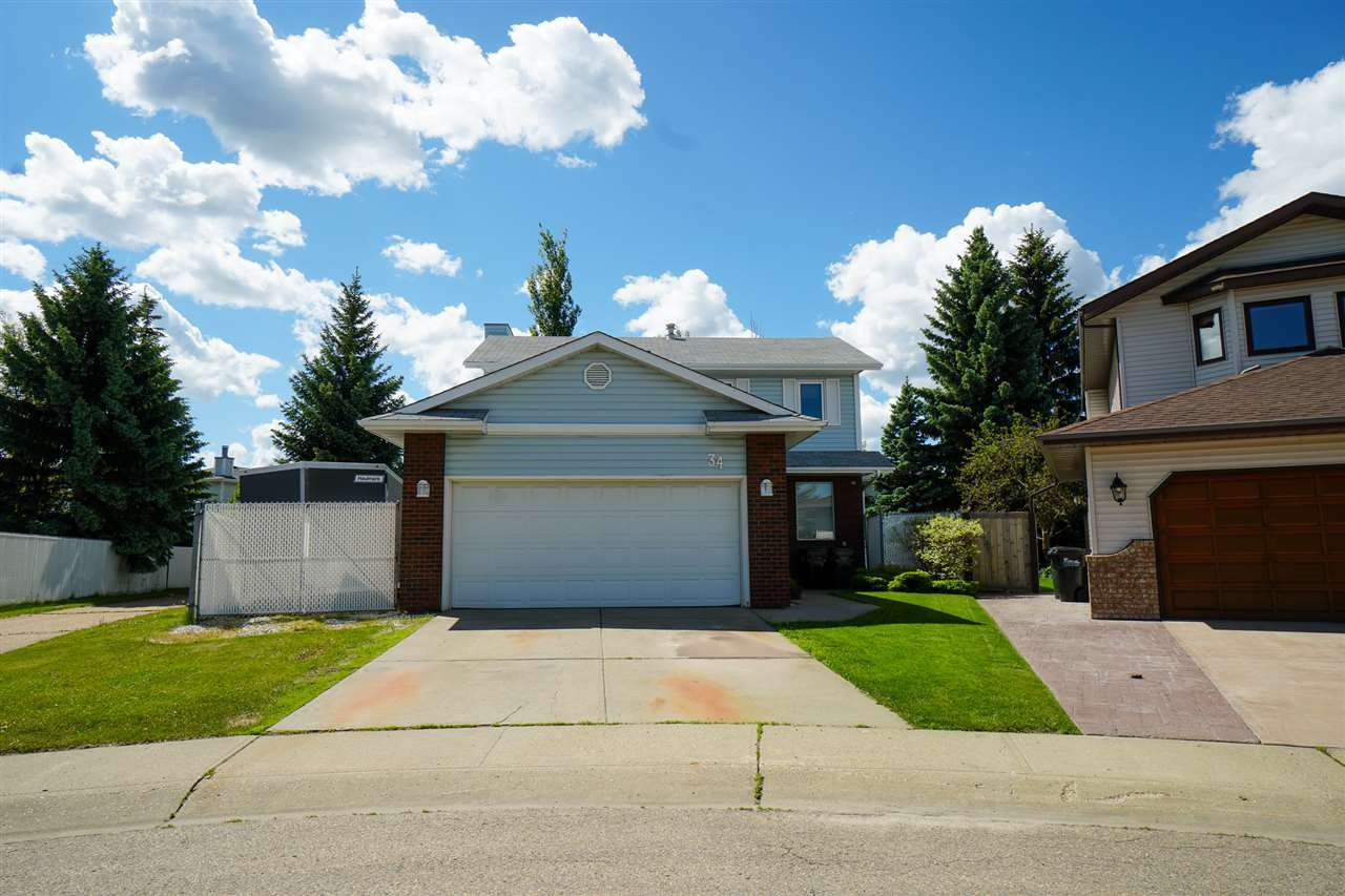 Main Photo: 34 LARKSPUR Place: Sherwood Park House for sale : MLS®# E4202224
