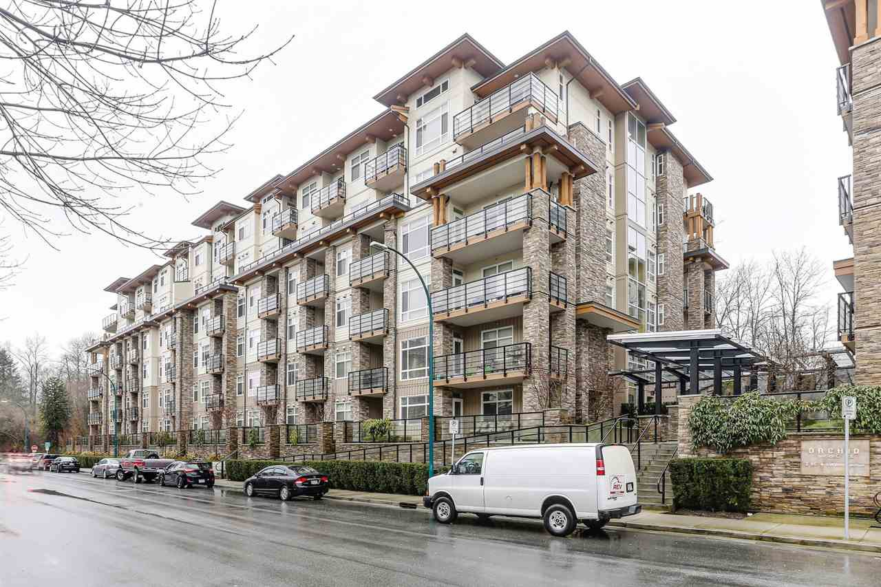 """Main Photo: 511 2495 WILSON Avenue in Port Coquitlam: Central Pt Coquitlam Condo for sale in """"ORCHID RIVERSIDE CONDOS"""" : MLS®# R2473493"""