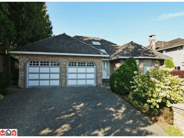 Main Photo: 18881 62A in Cloverdale: House for sale : MLS®# F1123012
