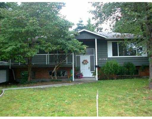 Main Photo: 21759 117TH Avenue in Maple_Ridge: West Central House for sale (Maple Ridge)  : MLS®# V664402