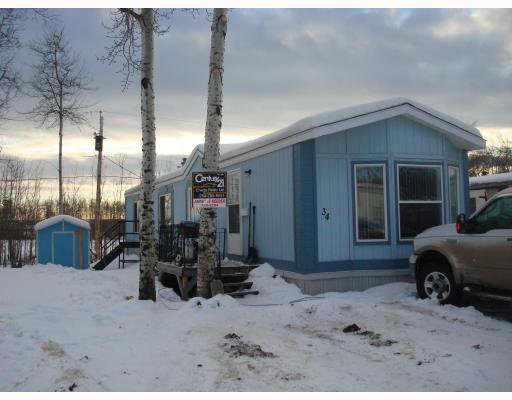 "Main Photo: 34 7414 FOREST LAWN Street in Fort_St._John: Fort St. John - Rural E 100th Manufactured Home for sale in ""FOREST LAWN TRAILER PARK"" (Fort St. John (Zone 60))  : MLS®# N178838"