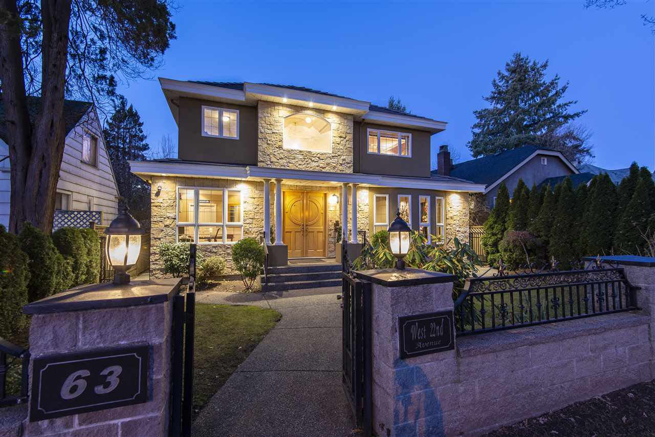 "Main Photo: 63 W 22ND Avenue in Vancouver: Cambie House for sale in ""Cambie"" (Vancouver West)  : MLS®# R2447190"