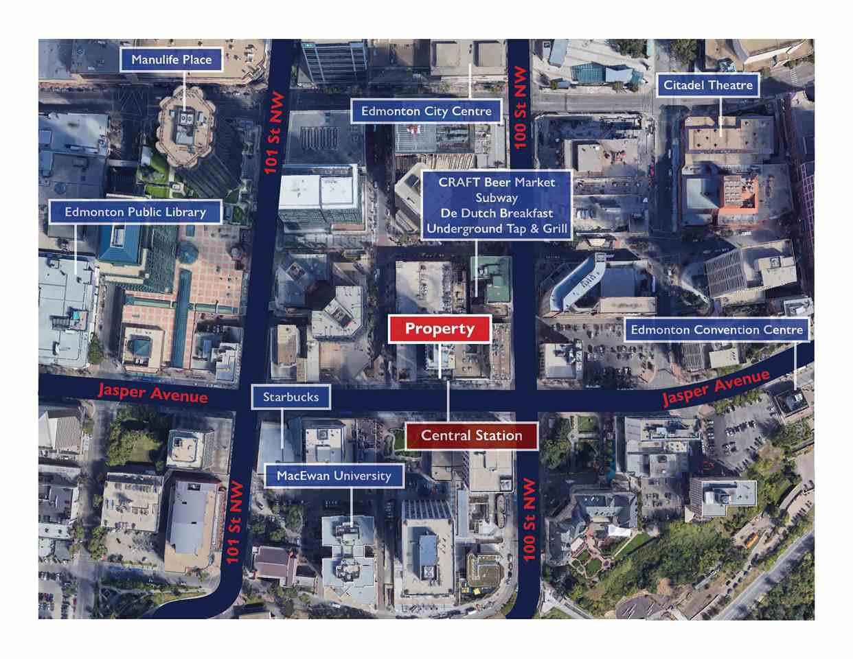 Main Photo: 10020 Jasper Avenue Avenue NW in Edmonton: Zone 12 Retail for sale : MLS®# E4202834