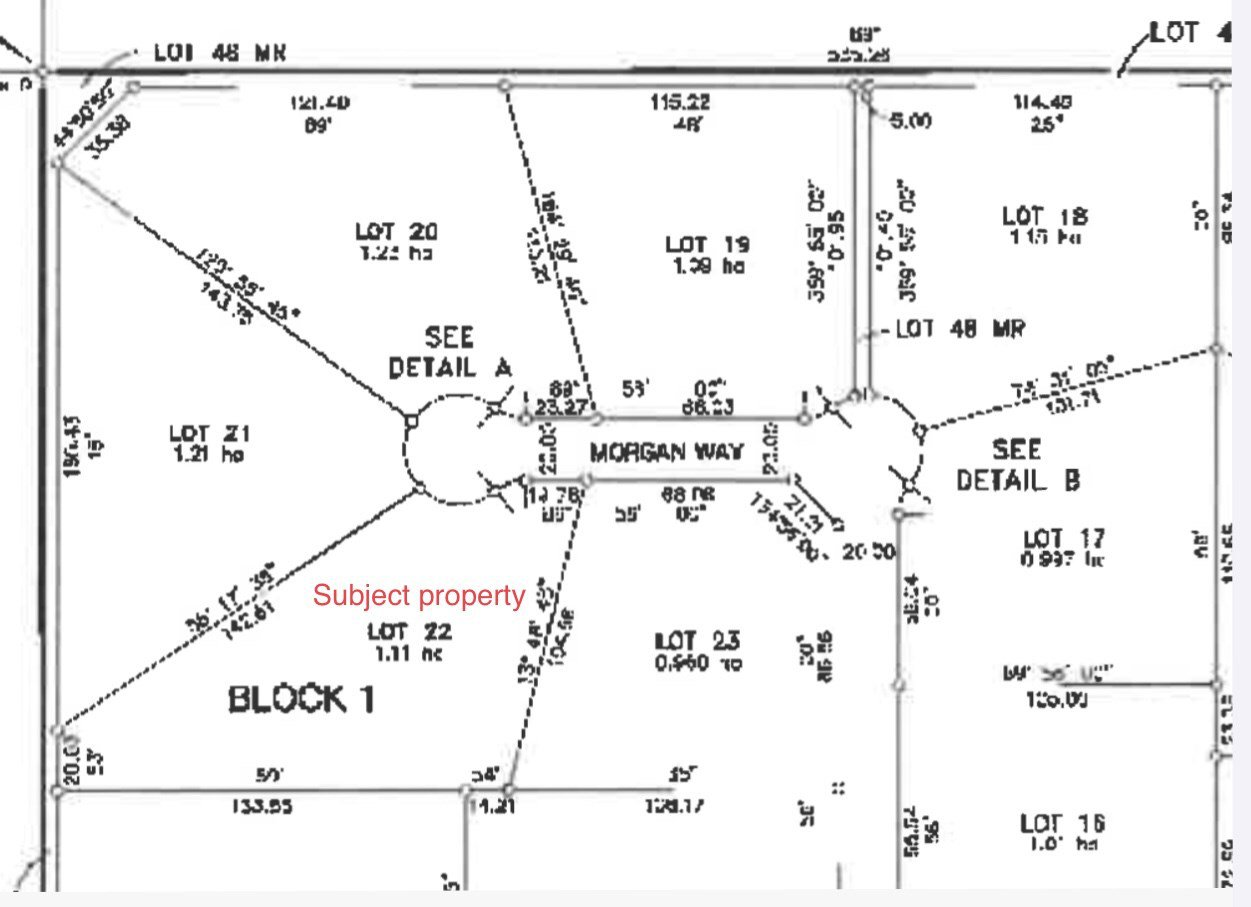 Photo 3: Photos: 22 Morgan Way: Rural Lac Ste. Anne County Rural Land/Vacant Lot for sale : MLS®# E4209833