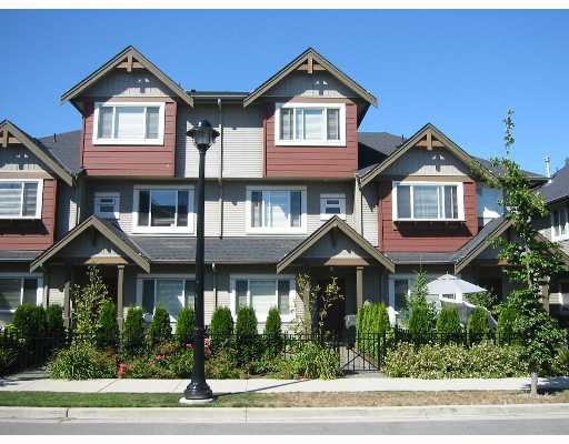 """Main Photo: 37 7733 HEATHER Street in Richmond: McLennan North Townhouse for sale in """"HEARTSTONE"""" : MLS®# V638024"""