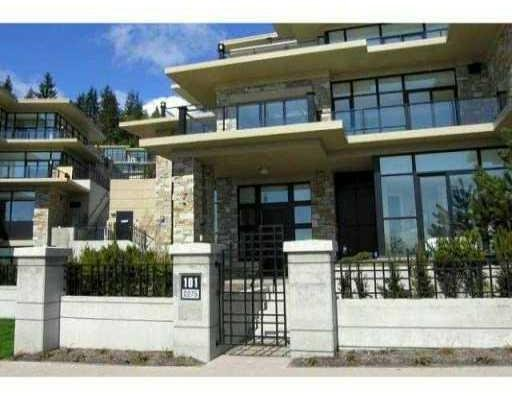 Main Photo: # 101 2275 TWIN CREEK PL in West Vancouver: Condo for sale : MLS®# V857555