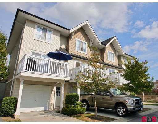 """Main Photo: 9 20560 66TH Avenue in Langley: Willoughby Heights Townhouse for sale in """"Amberleigh"""" : MLS®# F2724914"""