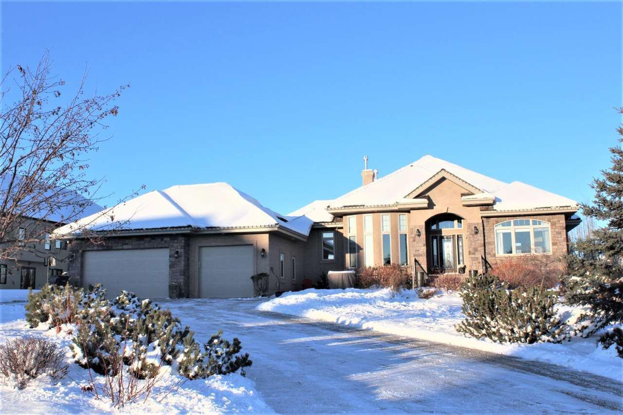 Main Photo: 209 RIVERSIDE Close: Rural Sturgeon County House for sale : MLS®# E4180846