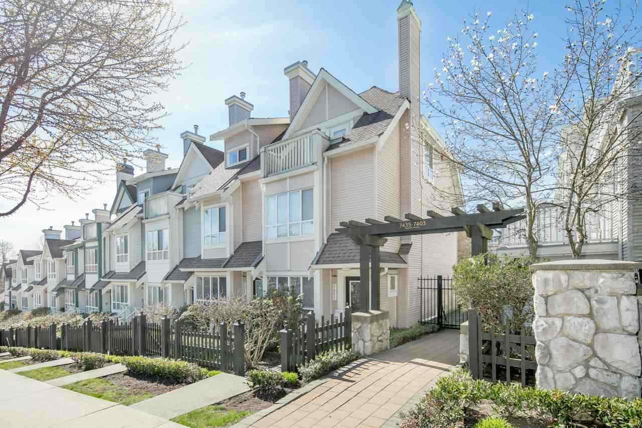 Main Photo: 7430 MAGNOLIA Terrace in Burnaby: Highgate Townhouse for sale (Burnaby South)  : MLS®# R2437647