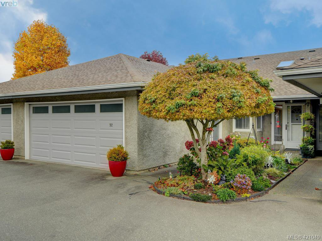 Main Photo: 92 2600 Ferguson Rd in SAANICHTON: CS Turgoose Row/Townhouse for sale (Central Saanich)  : MLS®# 833343