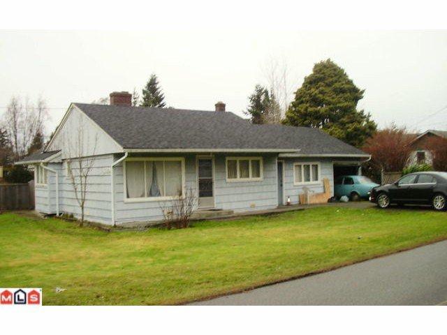 Main Photo: 12195 SULLIVAN ST in Surrey: Crescent Bch Ocean Pk. House for sale (South Surrey White Rock)  : MLS®# F1100089