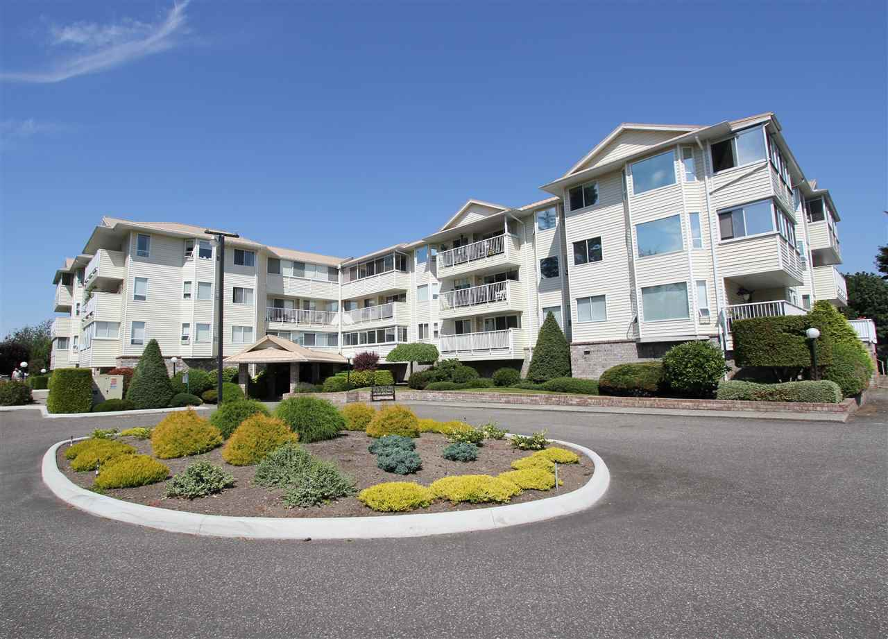 Main Photo: 110 8725 ELM Drive in Chilliwack: Chilliwack E Young-Yale Condo for sale : MLS®# R2417745