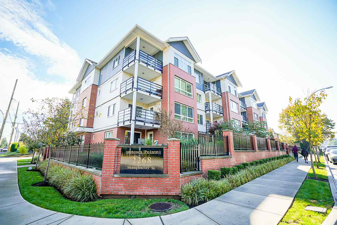 "Main Photo: 203 2268 SHAUGHNESSY Street in Port Coquitlam: Central Pt Coquitlam Condo for sale in ""Uptown Pointe"" : MLS®# R2514157"