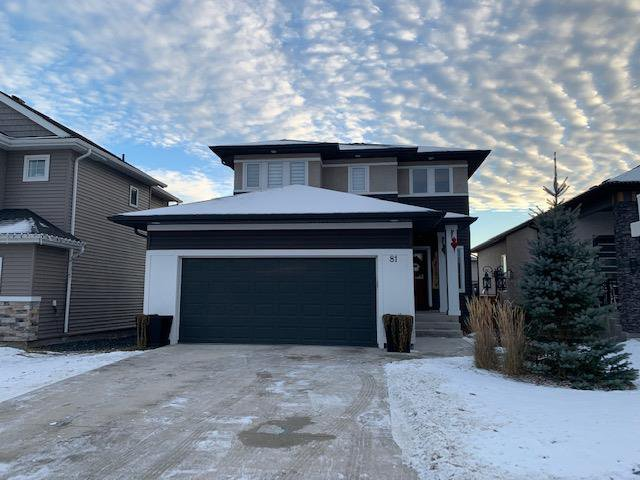 Main Photo: 81 Angela Everts Drive in Winnipeg: Single Family Detached for sale : MLS®# 202029004